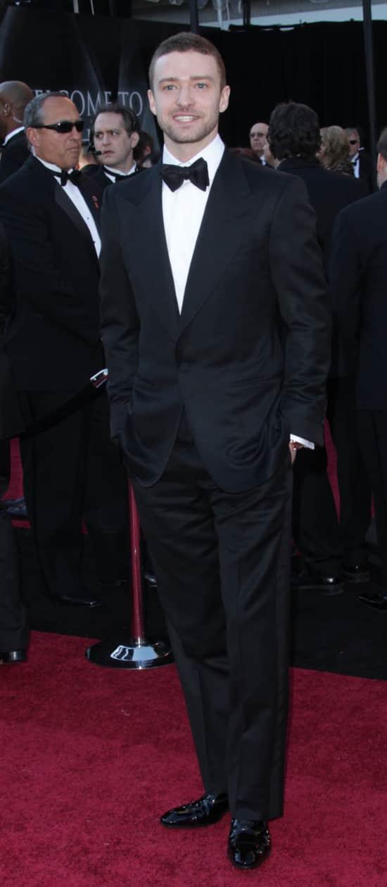Justin at the Oscars