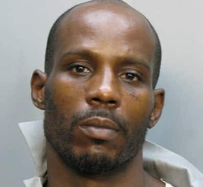 A Mug Shot of DMX