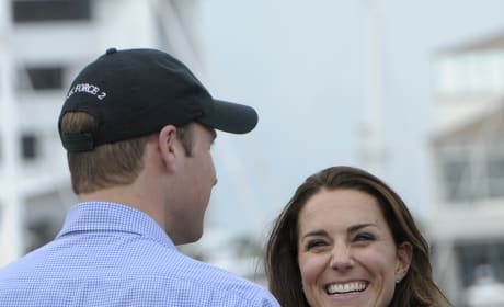 Duchess Kate Middleton and Prince William Duke It Out