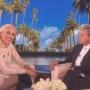 Gwen Stefani and Ellen DeGeneres