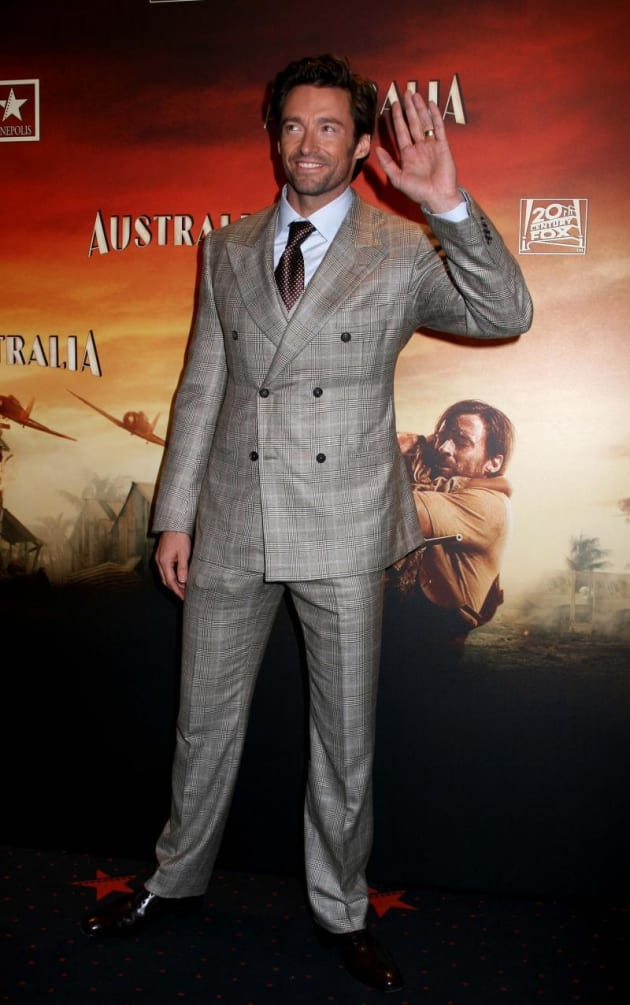 Hugh Jackman Spanish Style