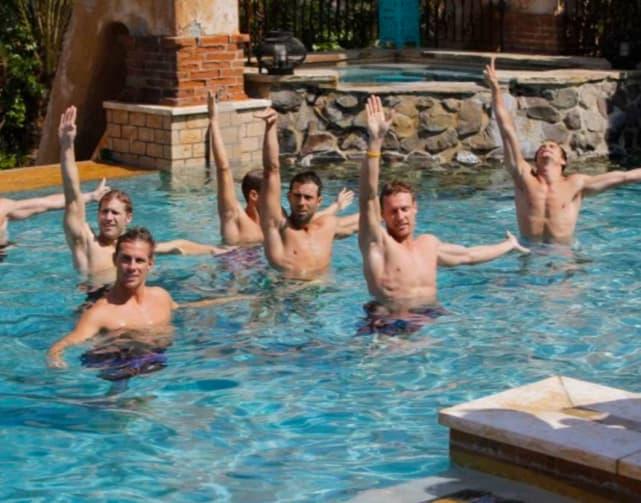 A Sexy, Synchronized Swim