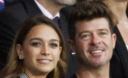 Robin Thicke and April Love Geary: Engaged?!