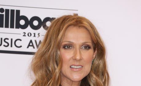 Celine Dion in Green Dress