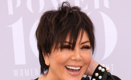 Kris Jenner is Happy