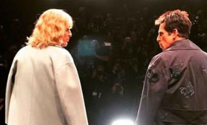 Ben Stiller, Owen Wilson Compete in Zoolander-Style Walk-Off at Paris Fashion Week