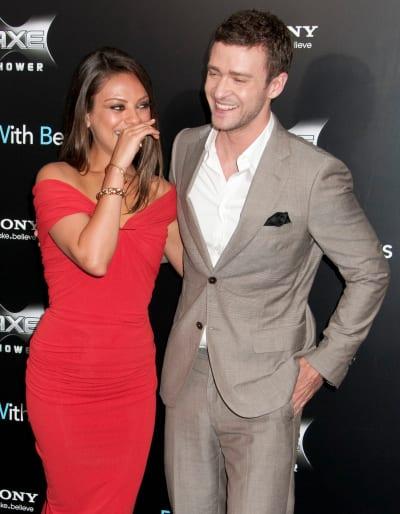 Justin Timberlake Mila Kunis Deny Hacked Photo Rumors In Classic