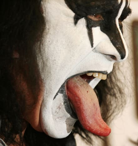 Gene Simmons, Tongue Out