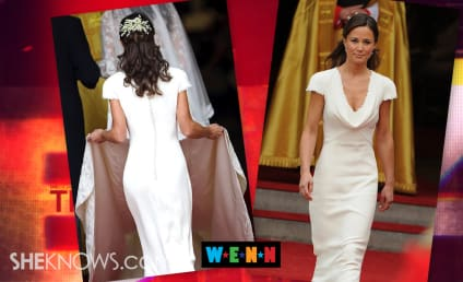 "Pippa Middleton Accused of ""False Bottom,"" Butt Padding Inside Famous Royal Wedding Dress"