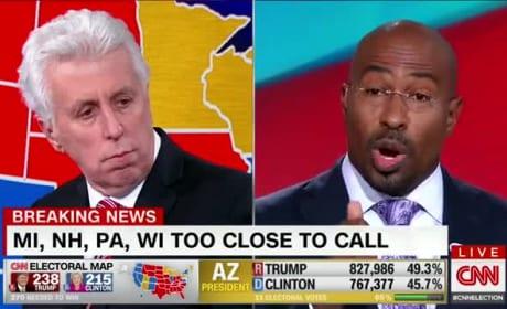 Van Jones Goes Off on Donald Trump Election