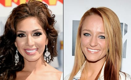 Maci Bookout Poses with Co-Stars, Shades Farrah Abraham