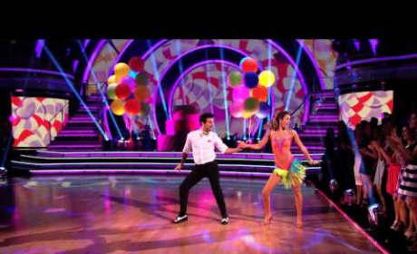 Sadie Robertson and Mark Ballas - Dancing With the Stars Week 1 Performance