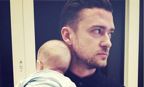 Justin Timberlake and Silas
