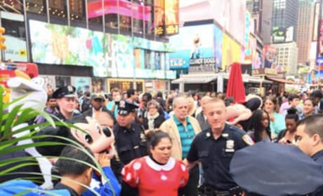 Minnie Mouse Arrested