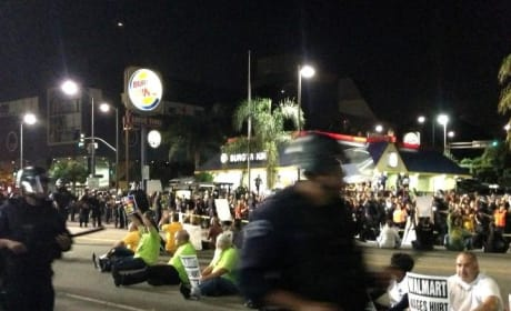 Walmart Civil Disobedience Leads to Over 50 Arrests