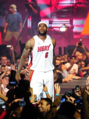 LeBron James in Miami