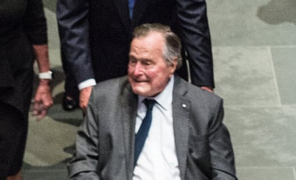 George H.W. Bush: Hospitalized 24 Hours After Wife's Funeral