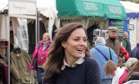 Kate Middleton: 2007 Badminton Horse Trials