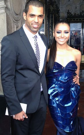 Cottrell Guidry and Kat Graham