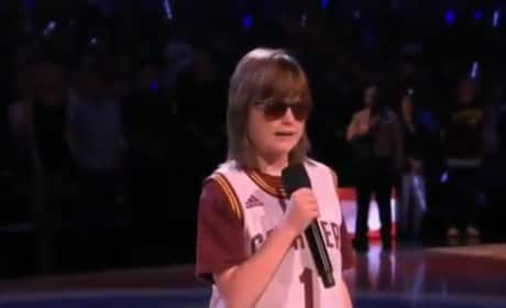 Marlana VanHoose, Blind Teenager, Wows with National Anthem Performance