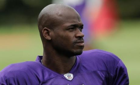 Adrian Peterson Plays Two Days After Son's Death