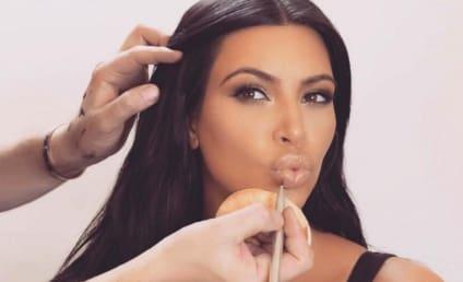 Kim Kardashian Blogs About Breastfeeding
