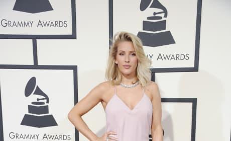 Ellie Goulding at the 2016 Grammys
