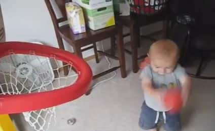 VIDEO: Little Kid Sinks Amazing Basketball Trick Shots