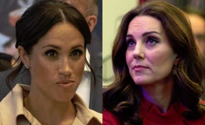Meghan Markle & Kate Middleton: Pissing Off Royals With Petty-Ass Feud [Report]