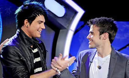 Adam Lambert and Kris Allen Face Media, Each Other