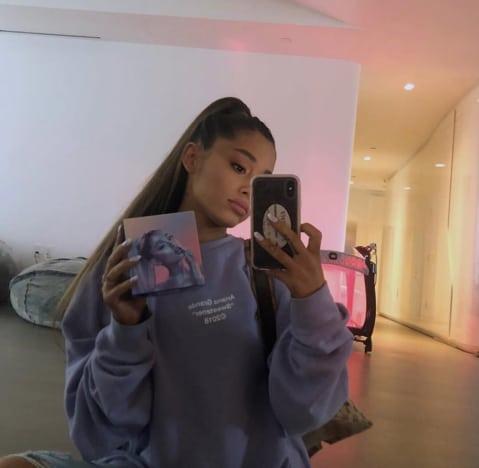 Ariana Grande with Perfume