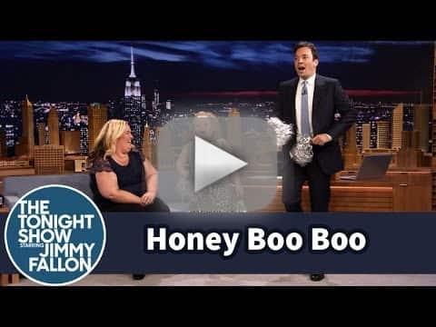 Honey Boo Boo Cheerleads on The Tonight Show