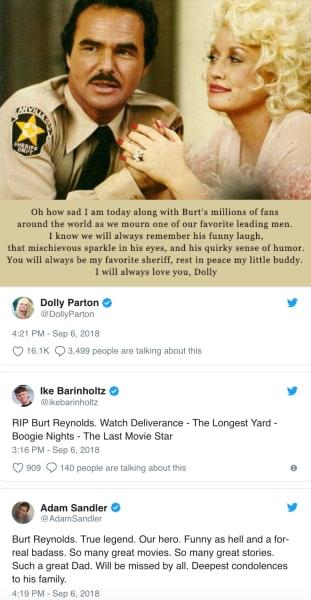 burt tributes