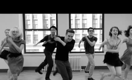 """Broadway Dancers Recreate """"Cups,"""" Tap Style!"""