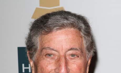 Tony Bennett at the Grammys
