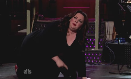 What grade would you give Melissa McCarthy as SNL host?