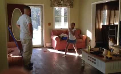 Father and Daughter Engage in Epic Dance-Off: Who Won?