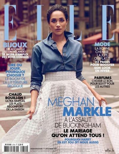 Meghan Markle Elle Cover