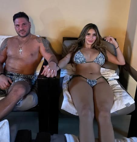 Ronnie Ortiz-Magro and Saffire Matos Together