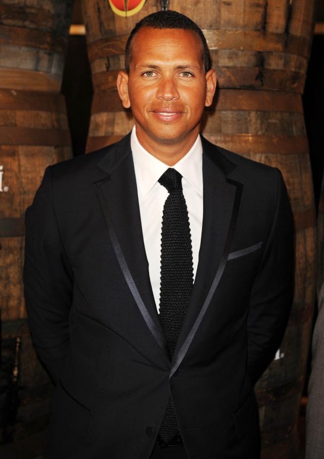 Alex Rodriguez in a Suit