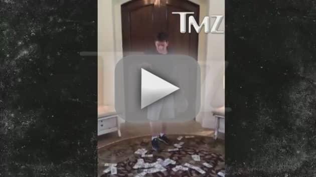 Charlie Sheen Accepts Ice Bucket Challenge