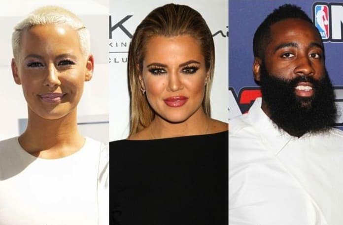 1caad0a1dd68 Khloe Kardashian-Amber Rose Feud  Fueled By James Harden Love Triangle ! -  The Hollywood Gossip