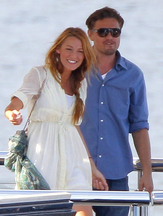 Blake Lively, Leonardo DiCaprio Pic - The Hollywood Gossip