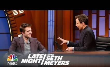 Robert Pattinson on Late Night: Just Call Me Big Tub!
