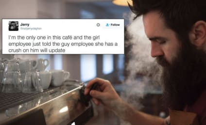 Coffee Shop Patron Live-Tweets A True Love Story