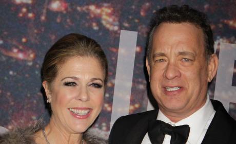 Rita Wilson with Tom Hanks