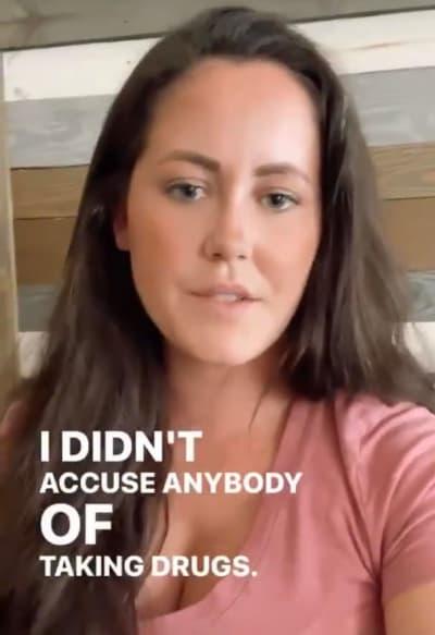 Jenelle Talks Drugs