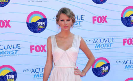 Taylor Swift at Teen Choice Awards
