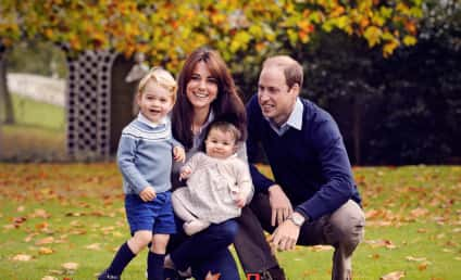 Will and Kate Release Family Pic, Charlotte Loses a Shoe