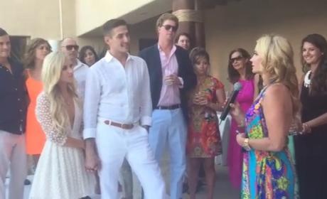 Kim Richards at Daughter's Wedding